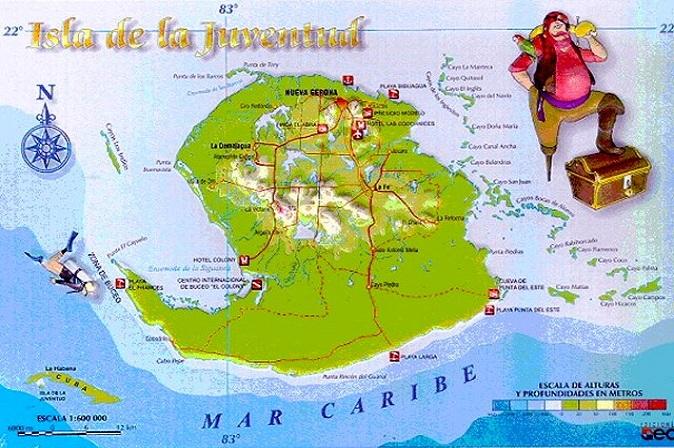 Хувентуд - остров сокровищ